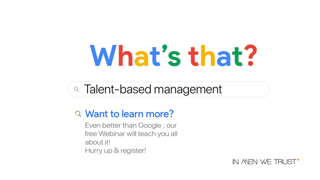 talent-based management